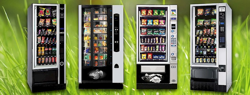 We offer a wide variety of vending machines